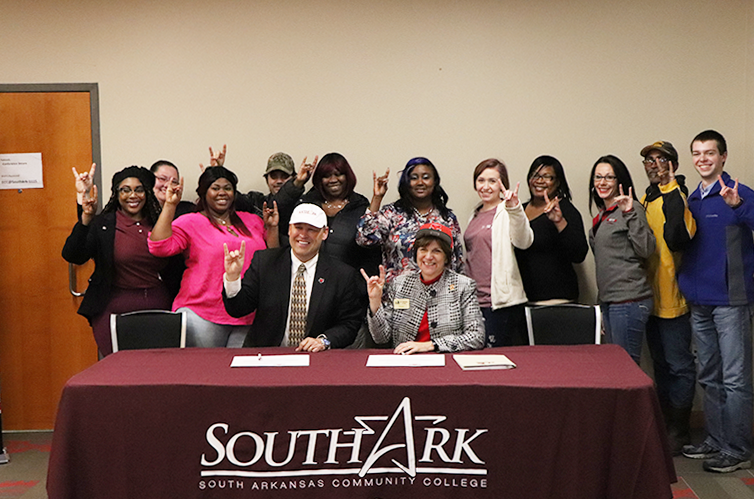 SouthArk Signs MOU with ASU